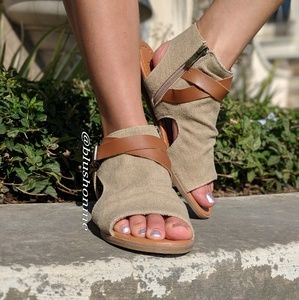 Shoes - Boho Strappy Flats - Lowest